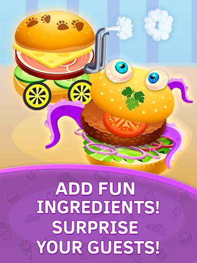 Baby kitchen game: Burger Chef
