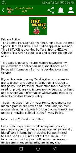 Live Cricket TV - Live Sports TV screenshot 10