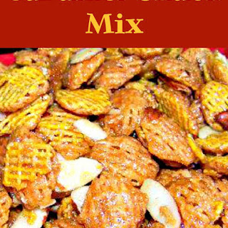 Cathy's Caramel Snack Mix.