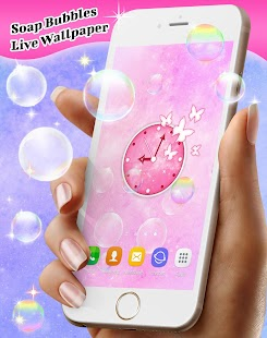 Soap Bubbles Live Wallpaper Free - náhled