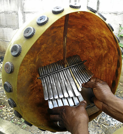A musician plays the mbira. Picture: WIKIMEDIA COMMONS
