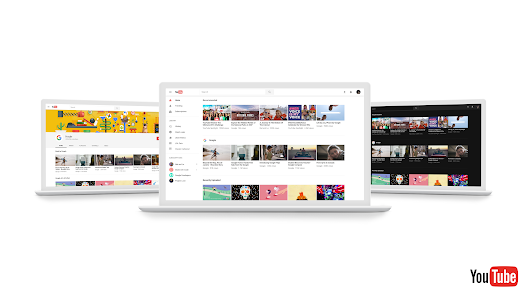 A sneak peek at YouTube's new look and feel