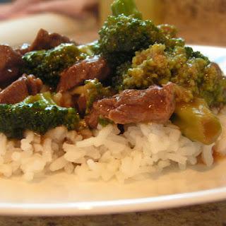 Easy Broccoli Beef