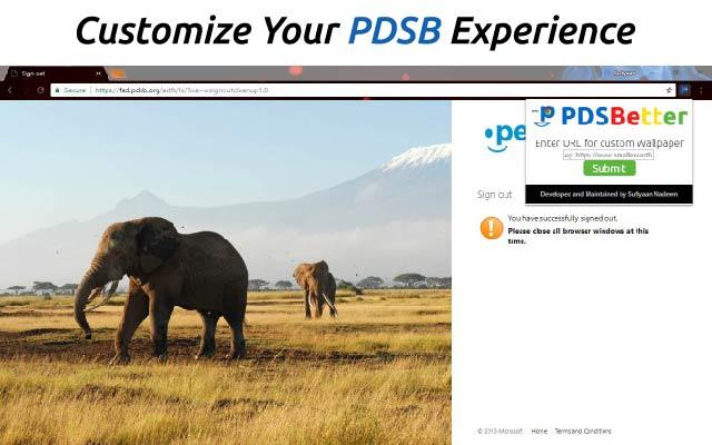 PDSBetter
