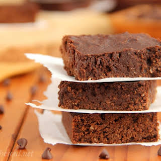The Ultimate Healthy Fudgy Cocoa Brownies.