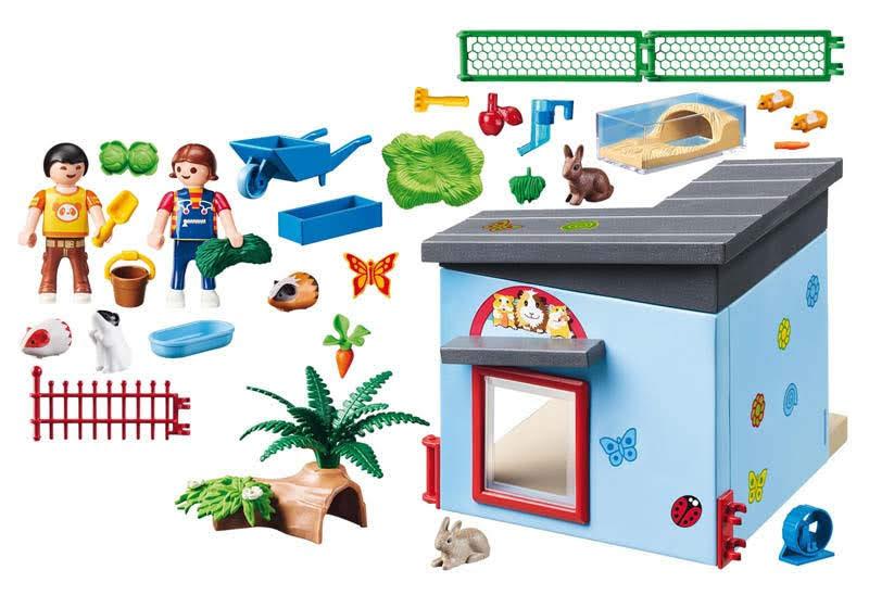 Contenido real de Playmobil® 9277 Habitación de Pequeñas Mascotas