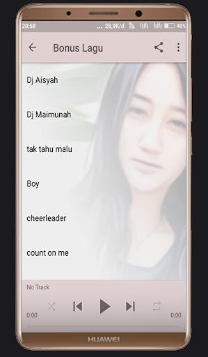 Lagu Sandrina Azzahra - Goyang Dua Jari  ( Lirik) 1.0 screenshots 3