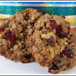Outrageous Cranberry-Walnut Oatmeal Cookies.