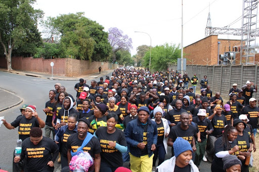 Mpumalanga protesters locked out of mine offices
