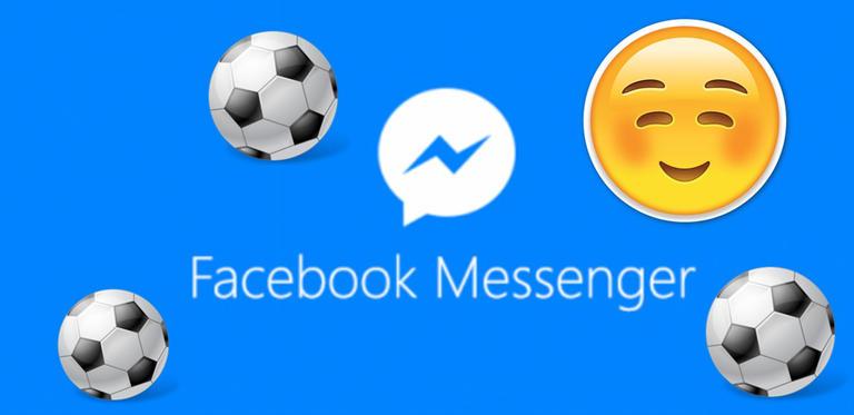 Nuovo Gioco del Calcio nascosto in Facebook Messenger