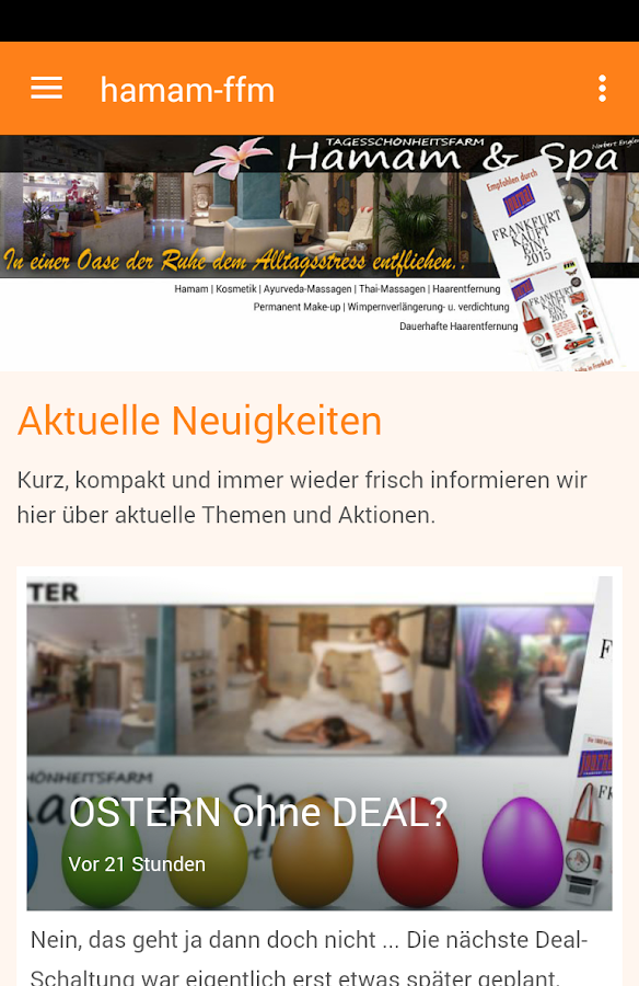 Hamam + Spa Frankfurt/Main- screenshot