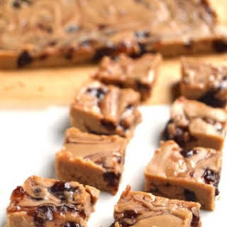 Peanut Butter and Jelly Protein Fudge.