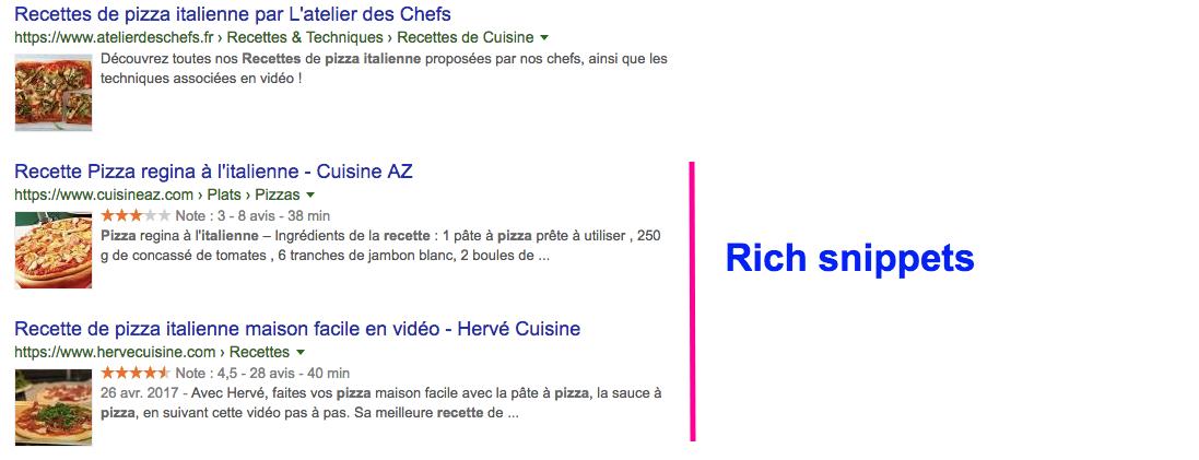 Les avis clients qui s'affichent sur Google permettent d'améliorer son référencement