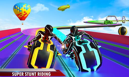 Mega Ramp Light Bike Stunts: New Bike Racing Games 2.1.1 screenshots 1
