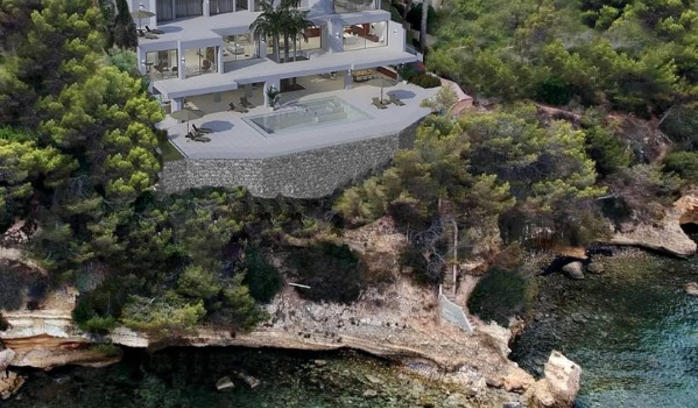 Propriété avec piscine en bord de mer Majorque