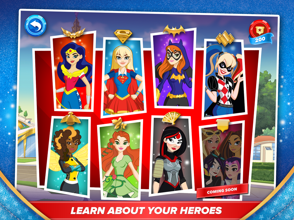 DC Super Hero Girls™- screenshot