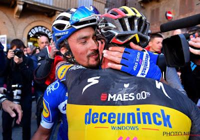 """Deceuninck-Quick.Step verlaat Tirreno-Adriatico met knappe hattrick: """"Het laat nog maar eens zien hoe we als team rijden"""""""