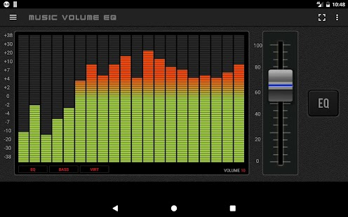 Music Volume EQ: Bass Booster & Equalizer Screenshot
