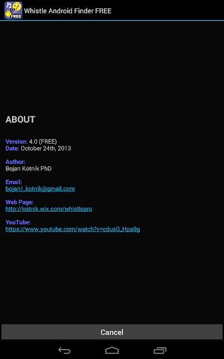 Whistle Phone Locator screenshot 17