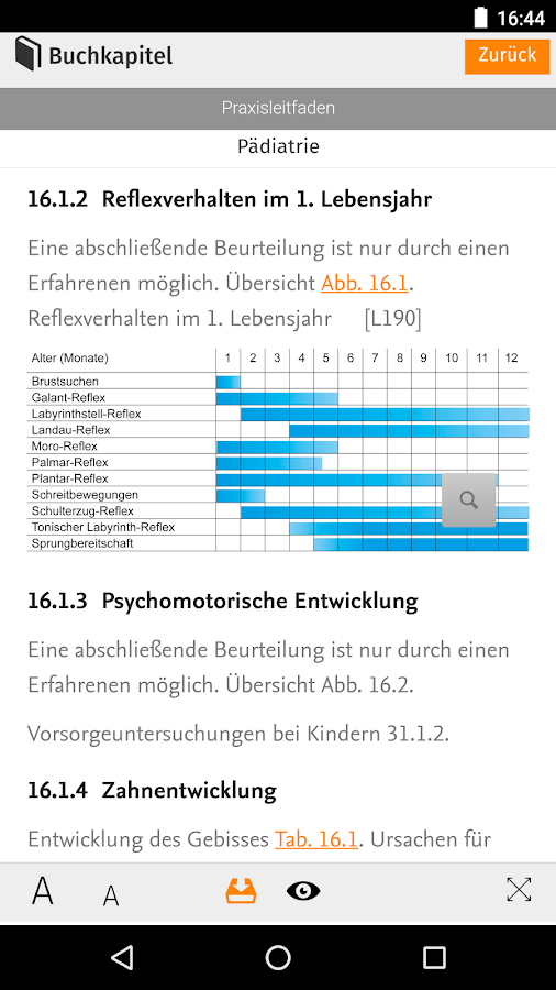 Elsevier Medizinwelten- screenshot