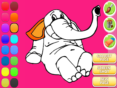 Elephant Coloring Book screenshot 14