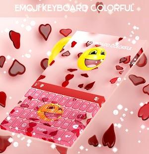 Emoji Klávesnice Colorful - náhled