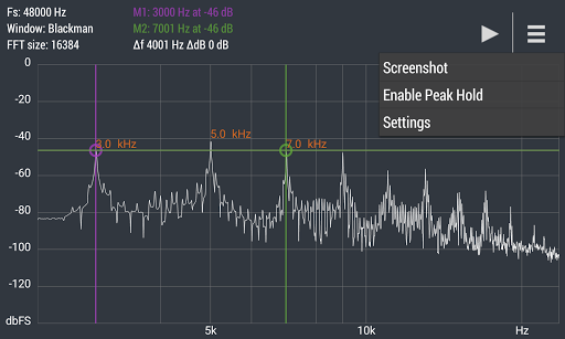 Advanced Spectrum Analyzer PRO 2.1 9