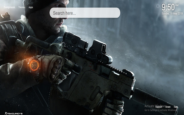 The Division Wallpaper HD New Tab
