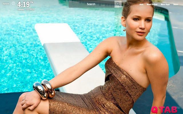 Jennifer Lawrence New Tab Wallpapers