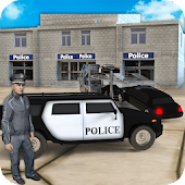 US Police Limousine Car & Bike Transporter Android APK Download Free By PingOo Games