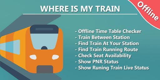 Where is my Train - Indian Rail Live Train Status screenshots 1