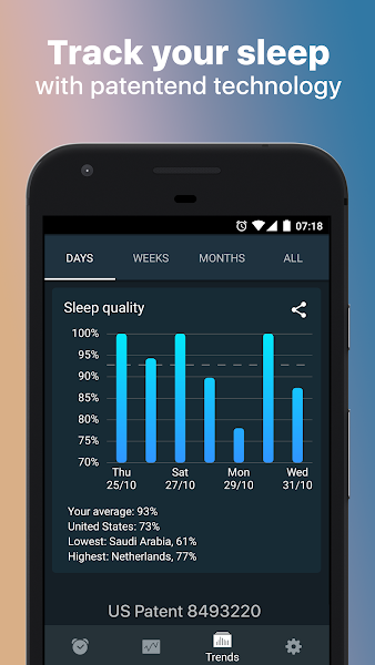 Sleep Cycle alarm clock Screenshot Image