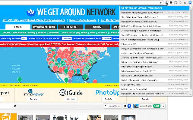 We Get Around Network Forum PLUS