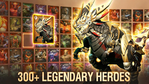 Idle Arena: Evolution Legends apktreat screenshots 1