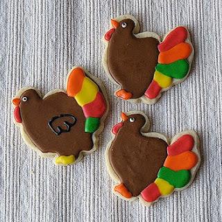 Cut Out Sugar Cookies.