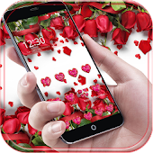 Red Rose Theme live wallpaper