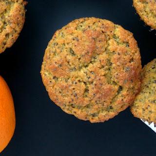 (Grain-Free) Orange Poppy Seed Flax Muffins