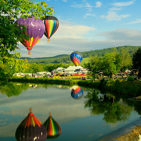 Queechee, VT.  by Chris Arbeene - Transportation Other