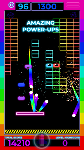 Brick Breaker: Neon Challenge screenshot 3