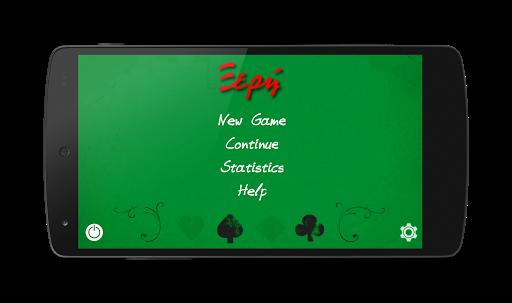Xeri Greek card game