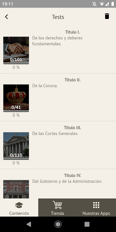 Constitución Española 1978 Android Apper Appagg