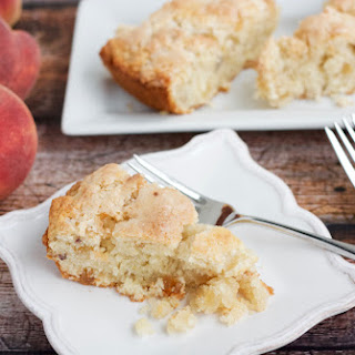 Candied Ginger Peach Scones