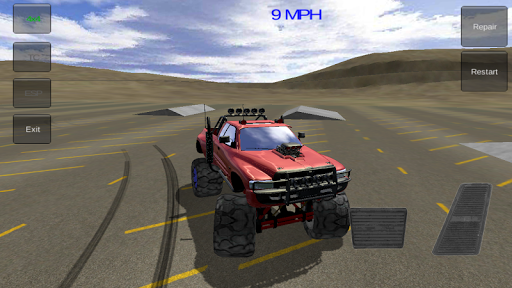 オフロード4×4:モンスタートラック