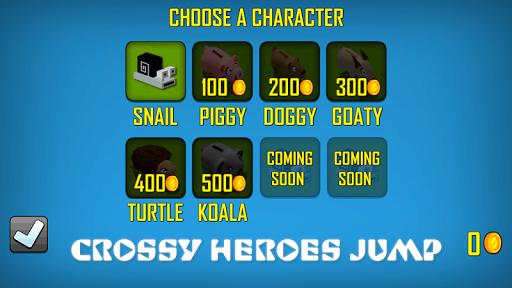 Crossy Heroes Jump