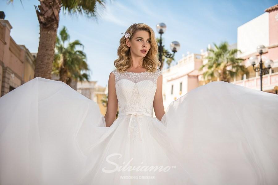 Свадебное платье на кокетке