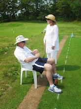 Photo: Bill and Jane take a break