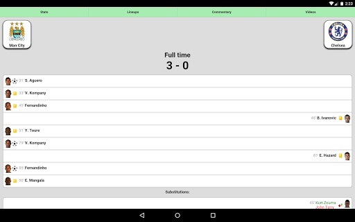 Football Live Scores 3.8 screenshots 6