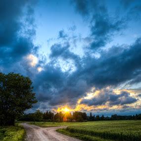 Coming home by Hendrik Mändla - Landscapes Sunsets & Sunrises