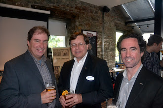 Photo: Jim Mills, Mike Swayne, & Geoffrey Lynch