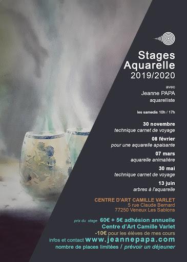 stages aquarelle JEANNE PAPA seine et marne_fontainebleau_moret_MLO_77